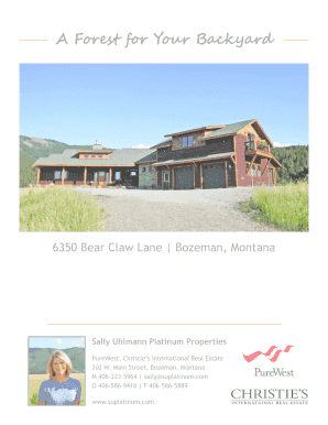 Full Brochure - Bozeman Luxury Real Estate