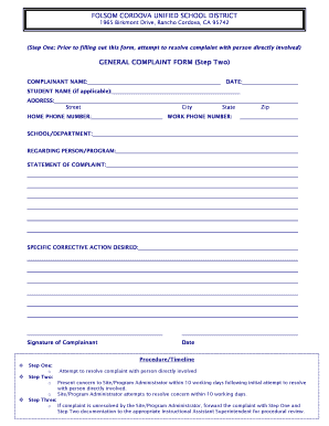 Editable Generic personal action form - Fill Out Best Business ...