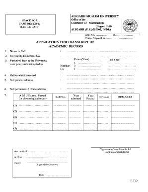 amu transcript request American Military University Transcript Request - Fill Online ...