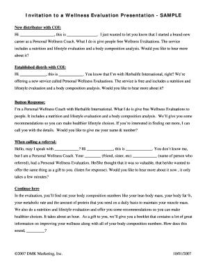 presentation evaluations templates