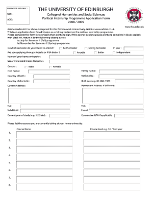 internship report format sample - Edit, Print, Fill Out & Download