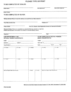Fillable Online fdle state fl Appeal Form (FDLE 40-020) - Florida ...