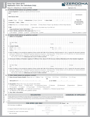 power of attorney form zerodha  Zerodha Account Opening Form Pdf - Fill Online, Printable ...