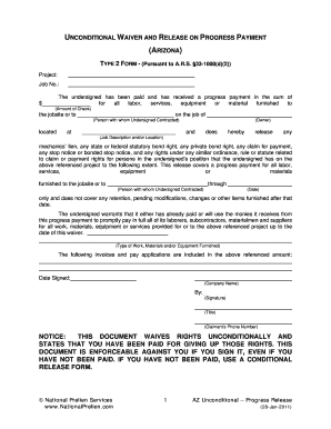 How To Fill Up A Unconditional Waiver For A Subcontractor - Fill ...