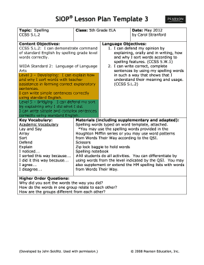 Washoe County Lesson Plan Template Fill Online Printable - Fillable lesson plan template