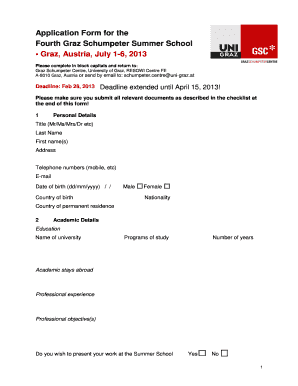 Printable please find my cv attached herewith edit fill out application form for the fourth graz schumpeter summer school graz austria july 1 spiritdancerdesigns Images