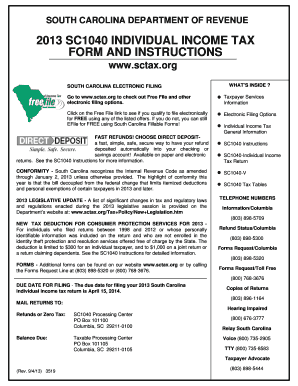 Sc 1040 Form - Fill Online, Printable, Fillable, Blank ...