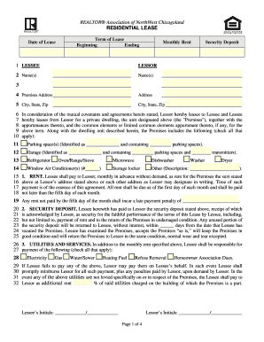 Illinois Residential Lease - Fill Online, Printable ...