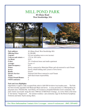 Mill Pond Park- Brochure2.pdf - The Mobile Home Park Store