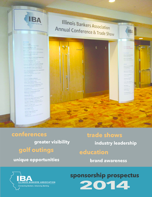 Exhibit / Sponsorship Opportunities - Illinois Bankers Association