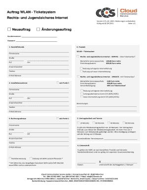 Cloud Service Agreement Template Edit Fill Print