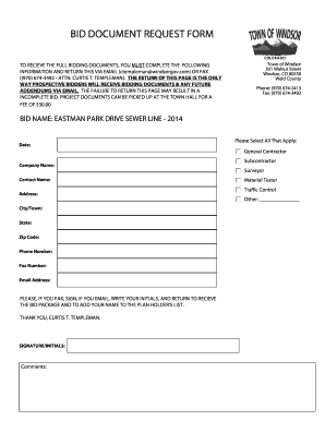 sign up form template word