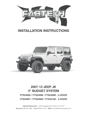 Fillable Online Parts List Fts24099 2door Coil Kit Wo Shocks 2. Fill Online. Jeep. 2007 Jeep Wrangler Parts Diagram Motor At Scoala.co