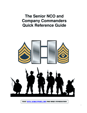 Commander-1sg-guide - US Army NCOER Guide, DA Form 2166-9 ...