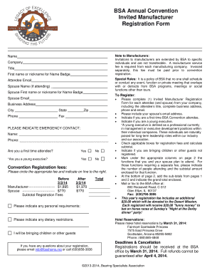 Fillable online gulfbreezewilldo spring grant application bsa annual convention invited manufacturer registration form note to manufacturers invitations to manufacturers are extended stopboris