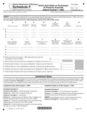 Printable Schedule f - Edit, Fill Out & Download Hot Tax Forms in ...