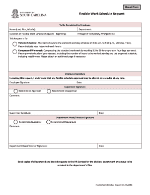 editable nanny work schedule fill print download online forms