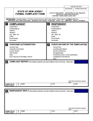 Complaint letter sample poor service - Edit, Fill, Print
