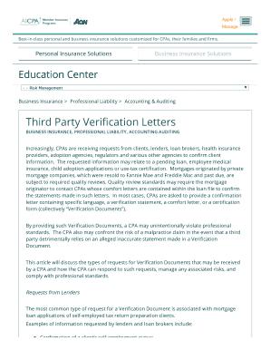 Third Party Verification Letters - bjacobgeorgecpabbcomb