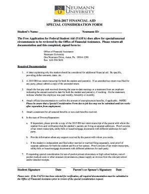 Financial assistance for medical bills sample letter edit print b2016b 2017 financial aid special consideration bformb neumann altavistaventures Choice Image