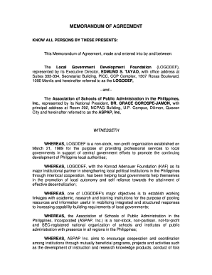 Fillable memorandum of agreement sample philippines edit print memorandum of agreement aspapassociation of schools spiritdancerdesigns Image collections