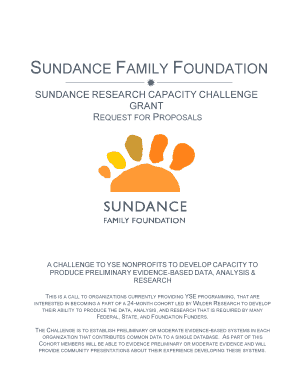 UNDANCE AMILY OUNDATION - Sundance Family Fdn