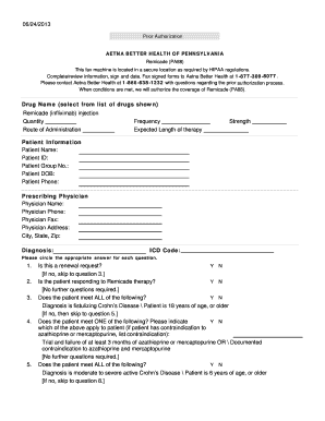 Submit aetna prior authorization list PDF Forms and Document