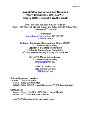 Printable weill hall cornell - Edit, Fill Out & Download