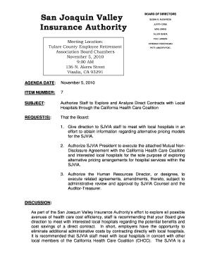 non disclosure agreement california template