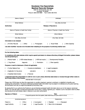 simple medical records release form thevillas co
