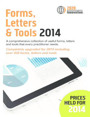 Forms, Letters & Tools 2014 - BBS COMPUTING LIMITED