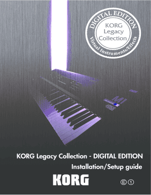 Editable korg m01d rom - Fill, Print & Download Forms in