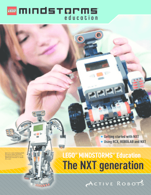 Submit lego mindstorms education 9797 PDF Form Templates Online