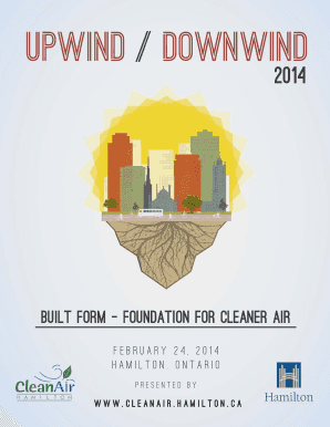 UpwindDownwind Conference Agenda - Town of Ajax