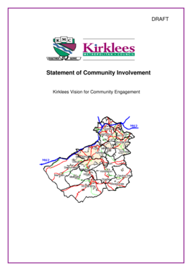 Draft SCI October - Kirklees Council - kirklees gov