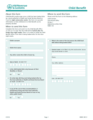 Child Benefit Form Word Child Benefit Form Online Forms and Templates - Fillable forms & Samples for PDF, Word
