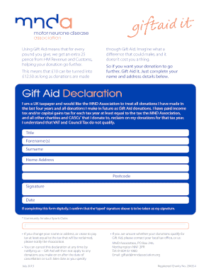 Gift letter template uk to download in word pdf editable gift aid declaration mnd association spiritdancerdesigns Choice Image