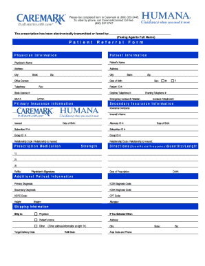 Humana Prior Authorization Form - Fill Online, Printable, Fillable ...