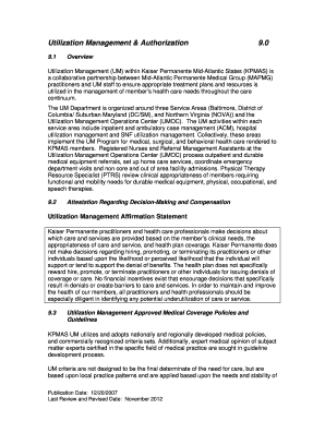 Authorization For Use Or Disclosure Of Kaiser Permanente