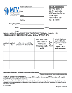 healthcare usa mileage reimbursement form
