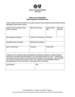 confirmation of job form