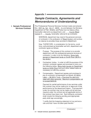Fillable memorandum of understanding sample agreement edit online sample contracts agreements and memorandums of altavistaventures Images