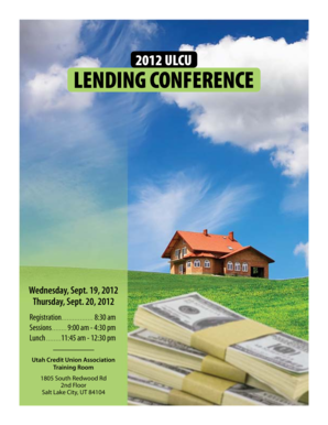 LENDING CONFERENCE
