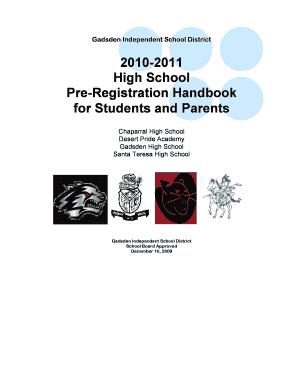 qualification course handbook university