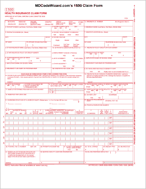printable fillable cms 1500 template edit, fill out