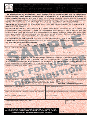 Form 2447pdffillercom - Fill Online, Printable, Fillable, Blank ...