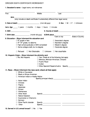 cremation certificate format