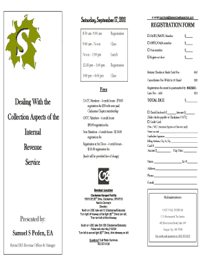Class registration form template word - Fill Out, Print & Download ...