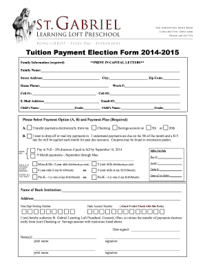 Simple payment agreement contract forms and templates for Tuition contract template