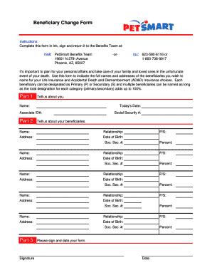 Petsmart Benefits Fax Number - Fill Online, Printable, Fillable ...